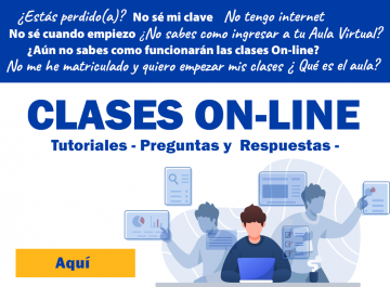 Aula Virtual y Tutoriales