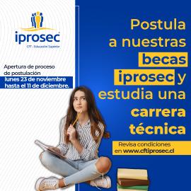 Becas IPROSEC