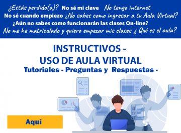 Aula Virtual y Tutoriales